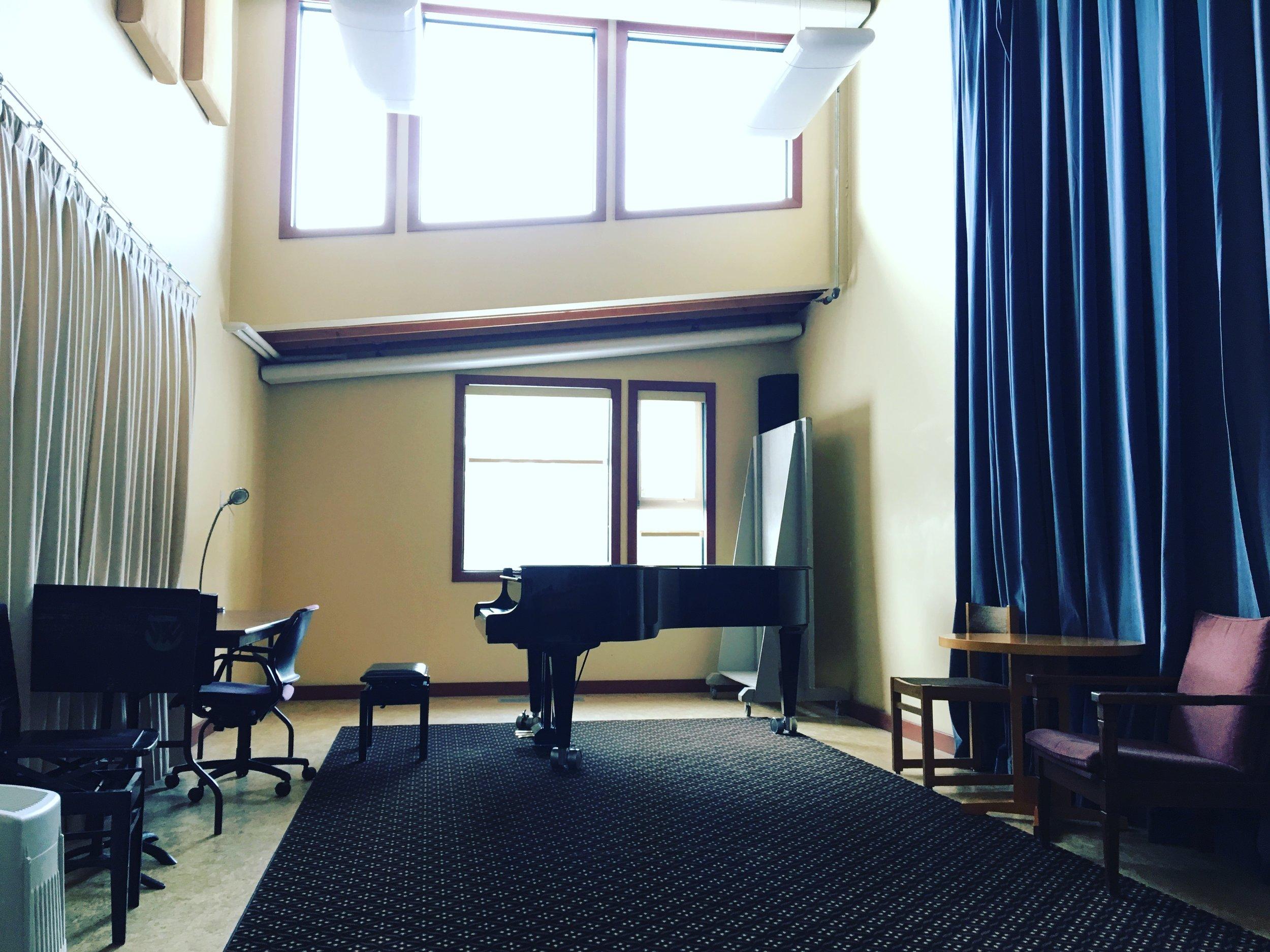 Our rehearsal studio