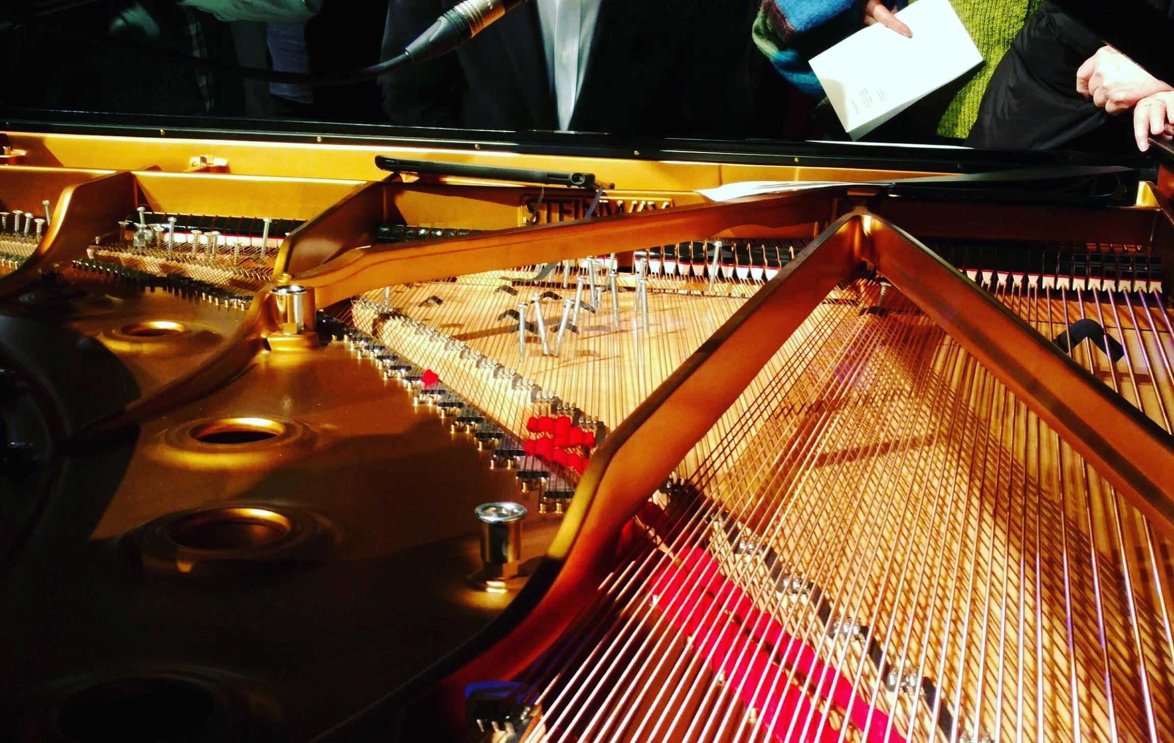 The prepared piano for John Cage's  Interludes