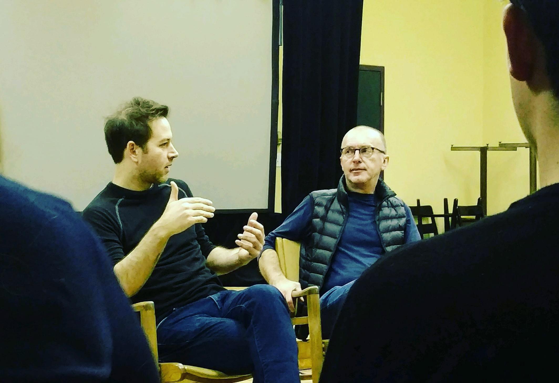 Daniel Pettrow and Pedja Muzijevic