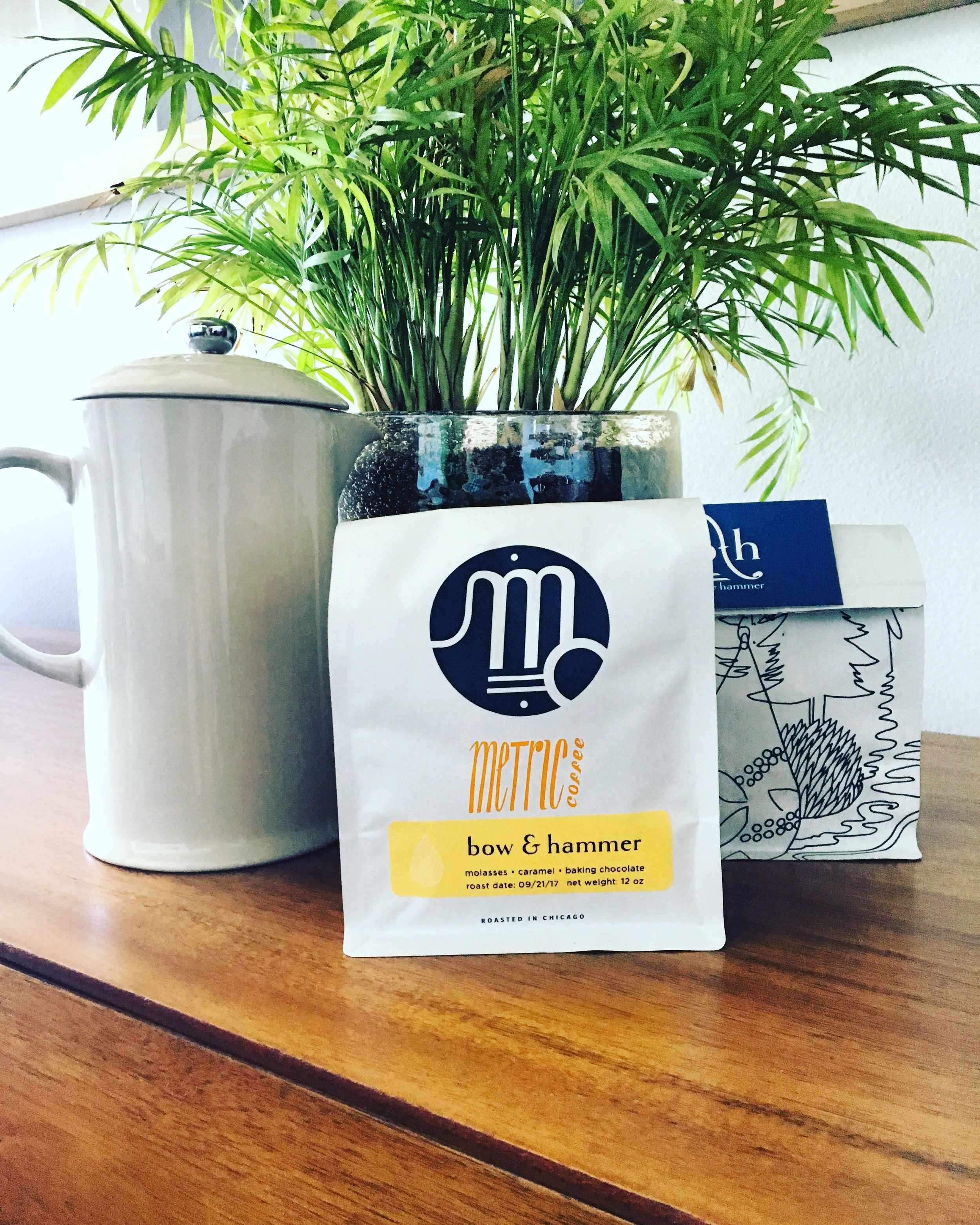 B&H's very own blend of coffee is now available for purchase! Carefully roasted by Metric Coffee Roasters, this will surely be a morning favorite!