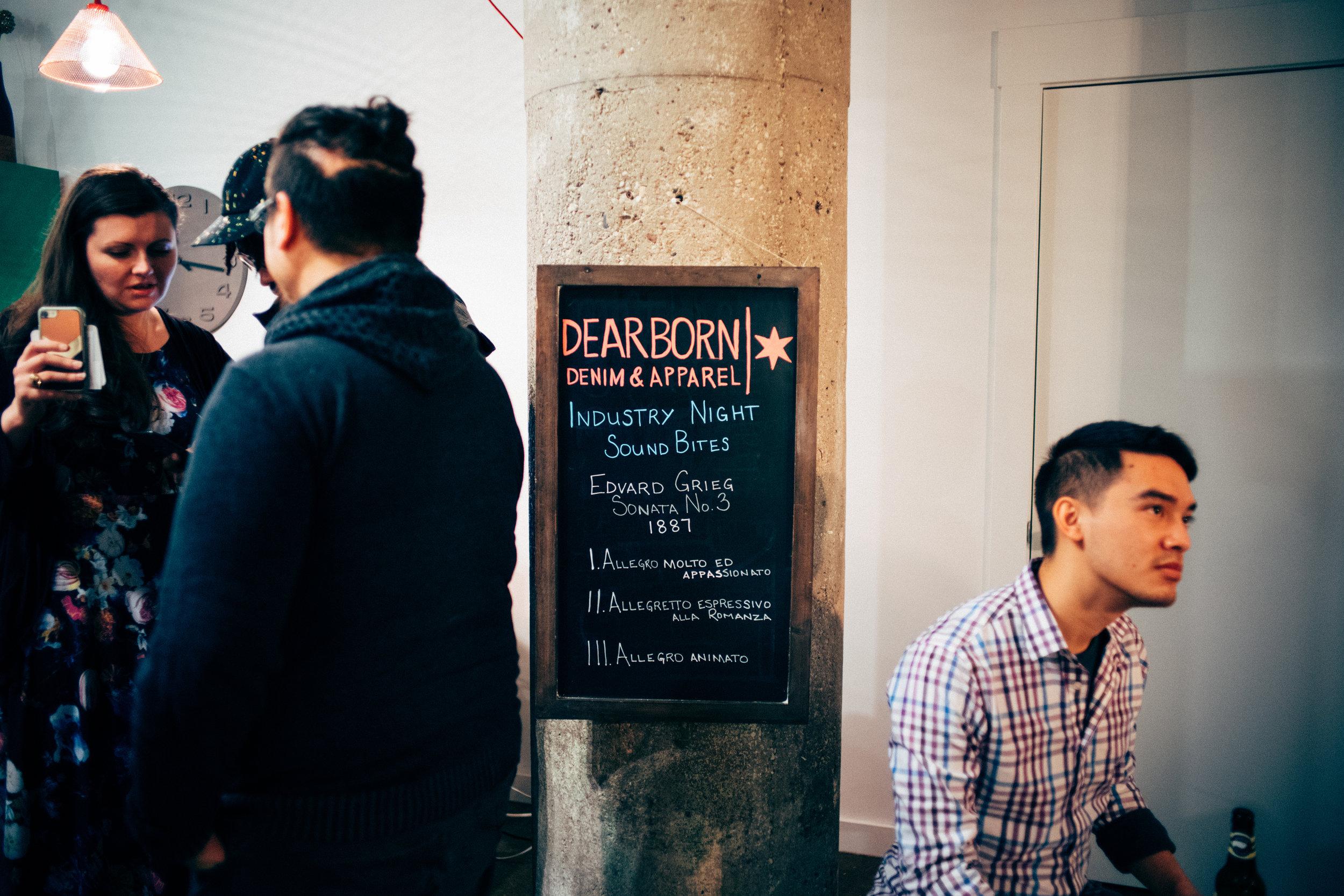 IndustryNight with Dearborn Denim