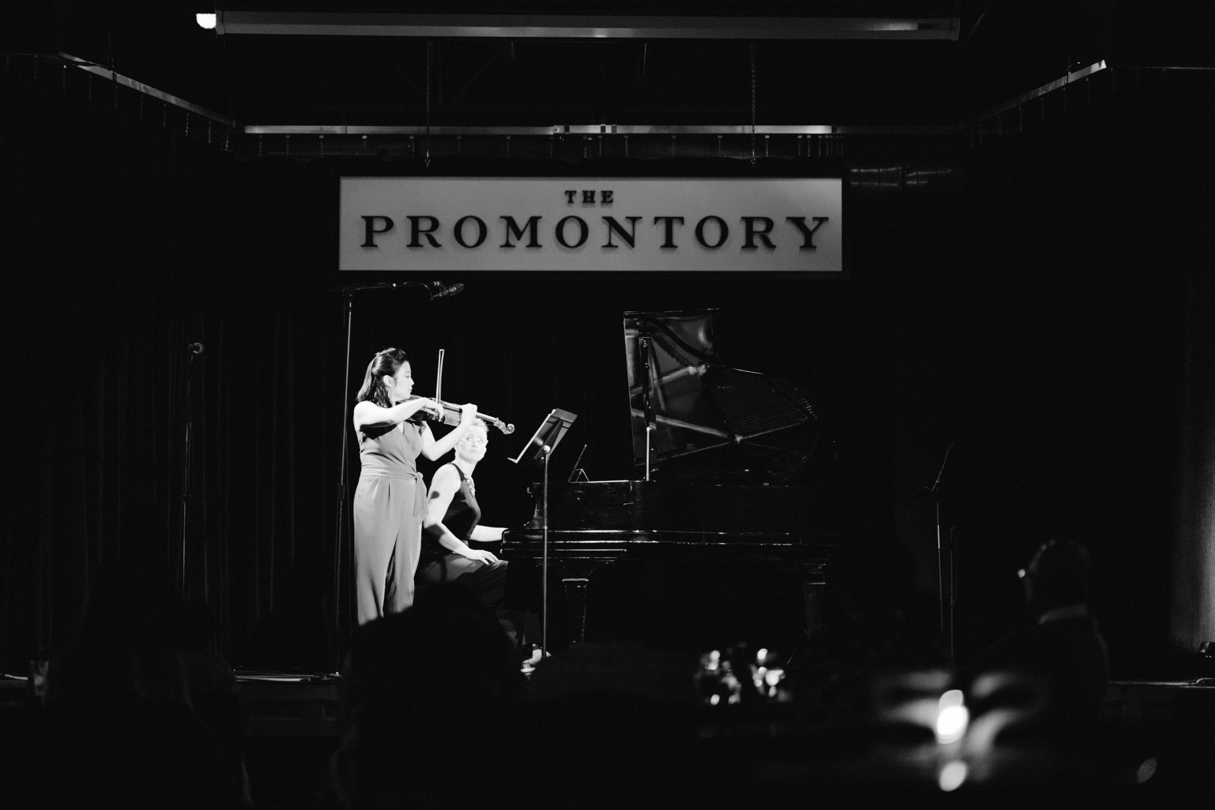 Bow & Hammer Deconstructed. The 1st of a 3-concert residency at the Promontory.
