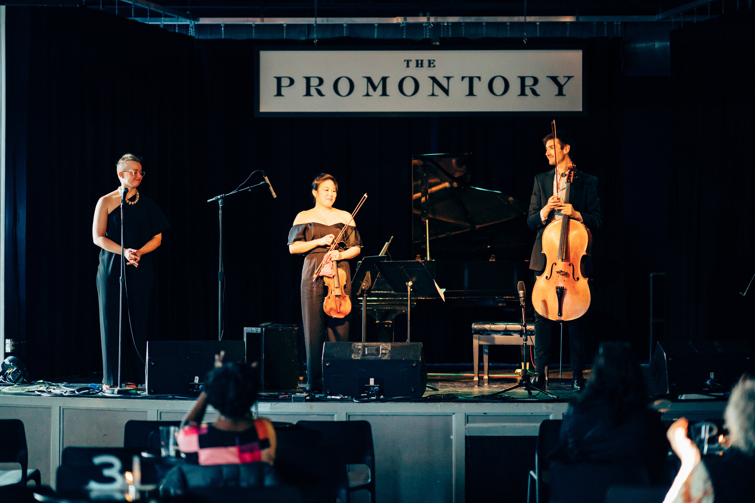 Bow & Hammer Deconstructed. The finale of our 3-concert residency at the Promontory.