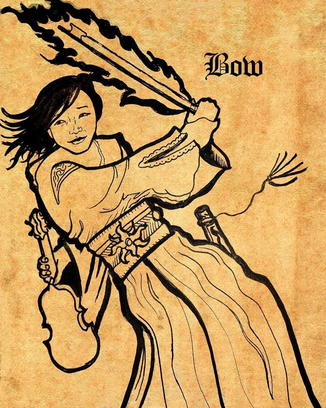 """""""Bow"""" by Sean Archer"""