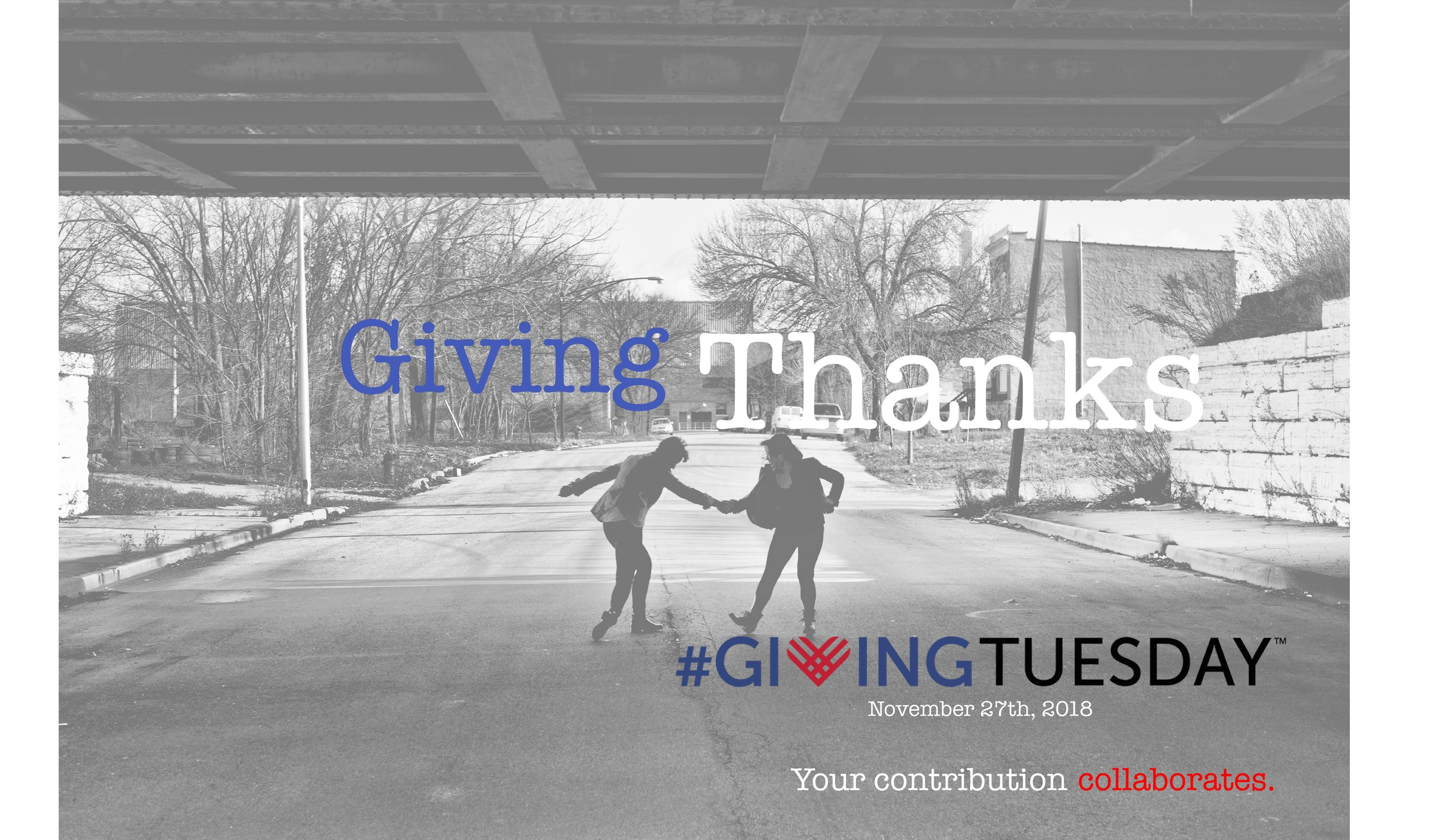 Click for more info on   GivingThanks,   ends on #GivingTuesday!