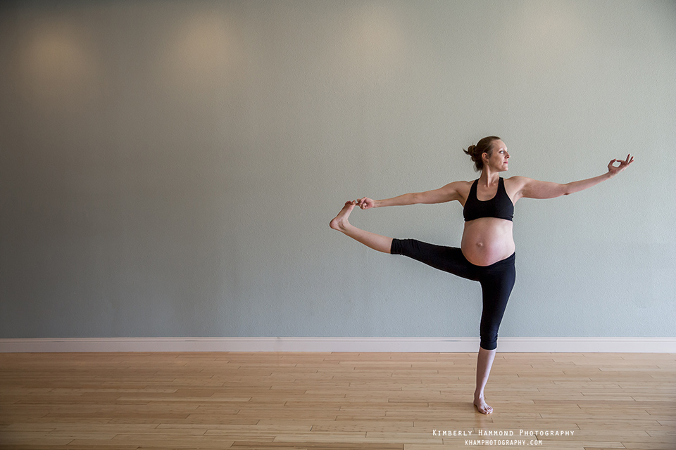 Yoga Maternity session in Fort Worth TX