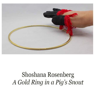 A Gold Ring in a Pig's Snout   Shoshana Rosenberg