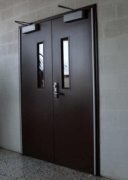"""Fig 1: the """"Door"""" in its entirety which is visible to the naked eye."""