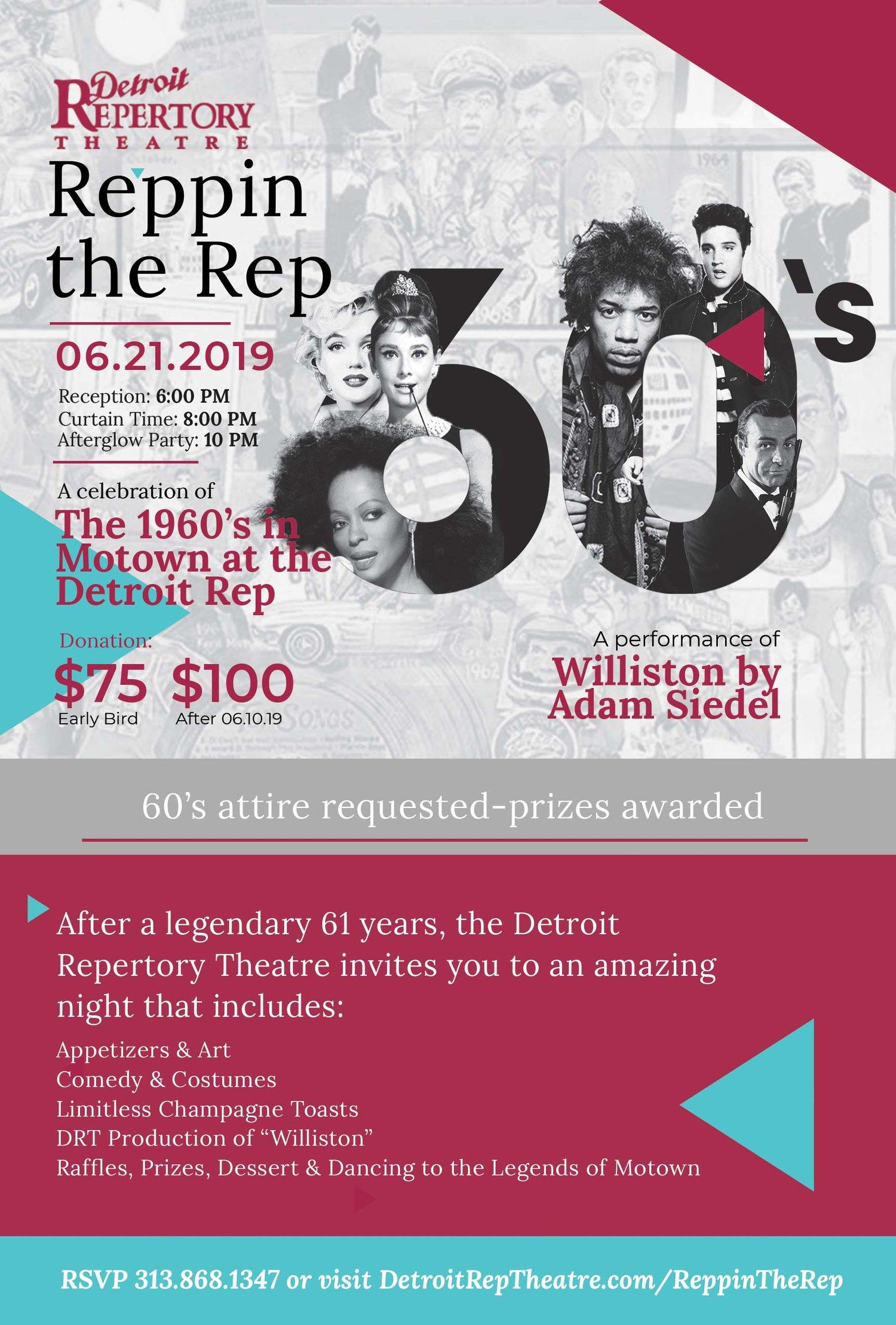 Reppin The Rep — Detroit Repertory Theatre