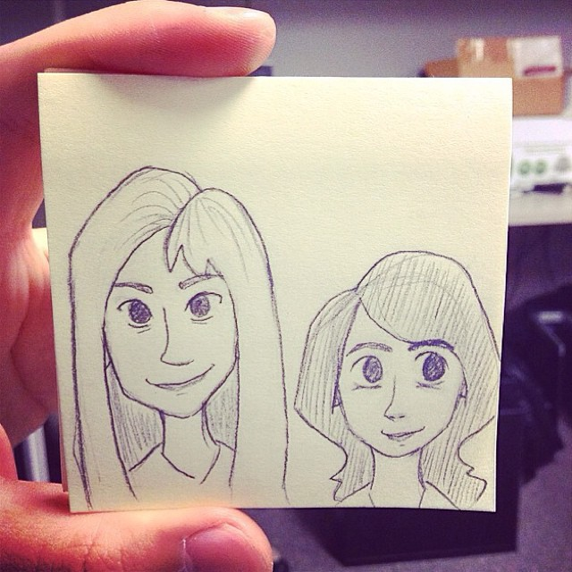 Drawing by @veeleetee