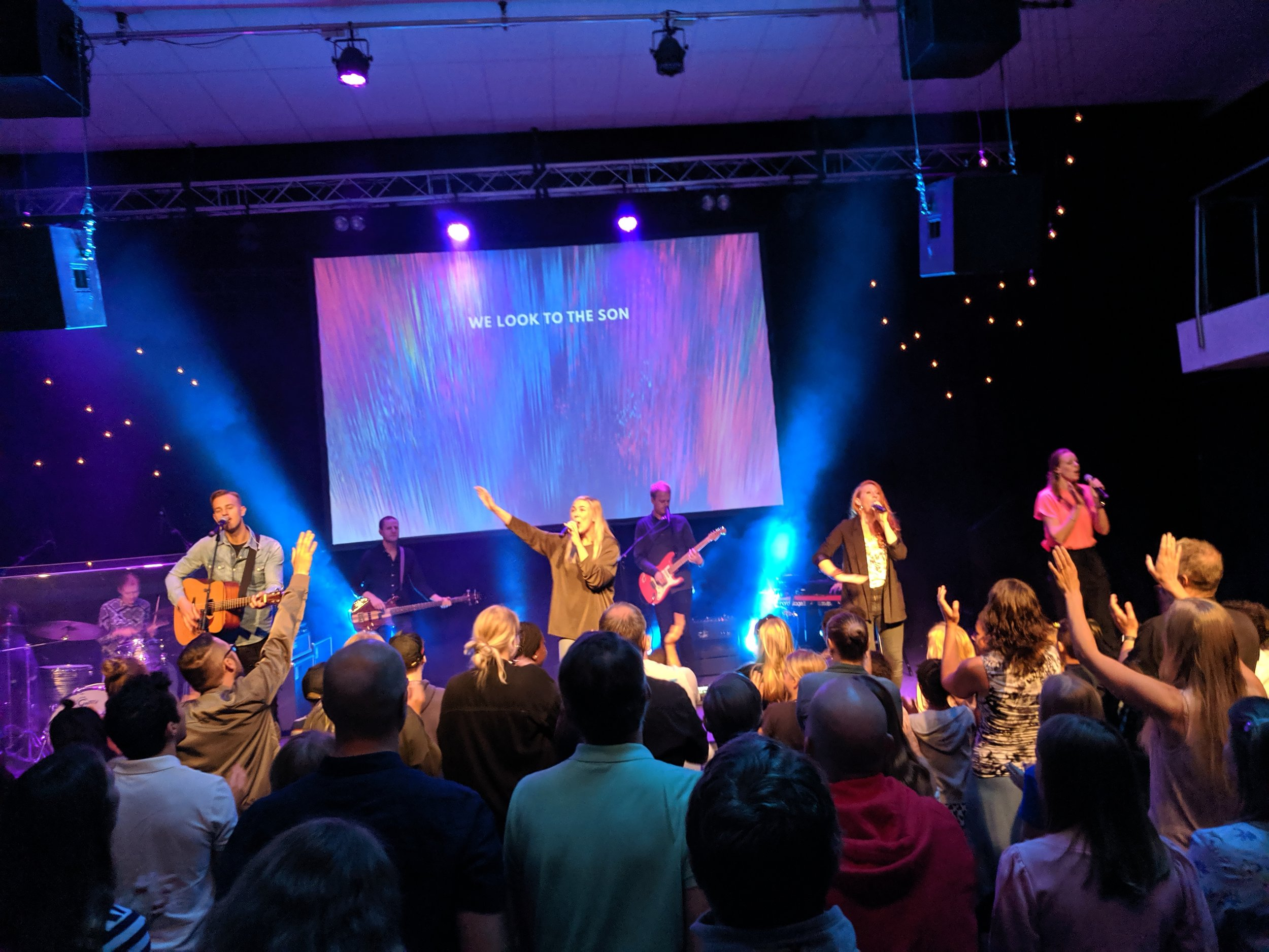 Hillsong United, Goteborg, Sunday Worship