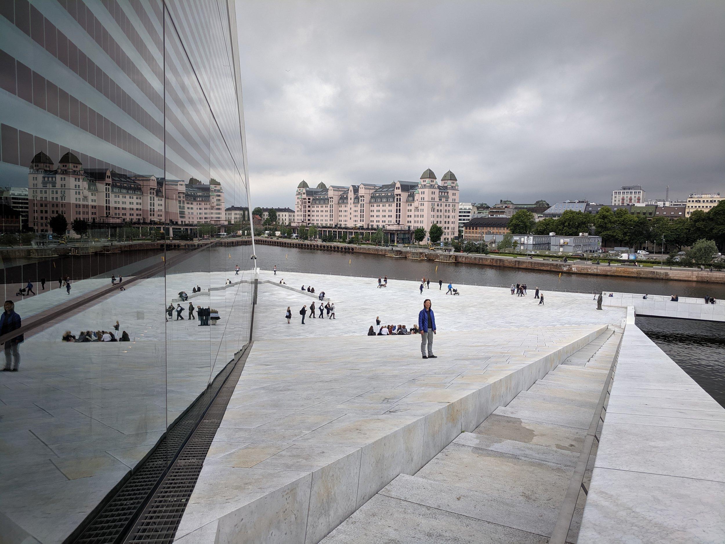 Gule Sider from Oslo Opera House