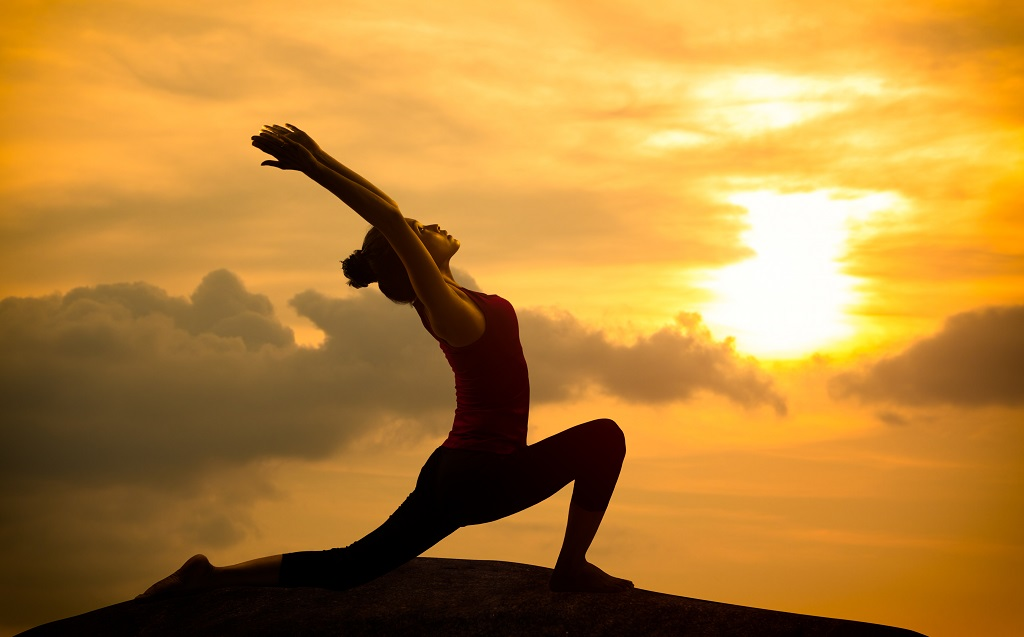 Join us June 28th for a free sunset yoga session with gorgeous views.