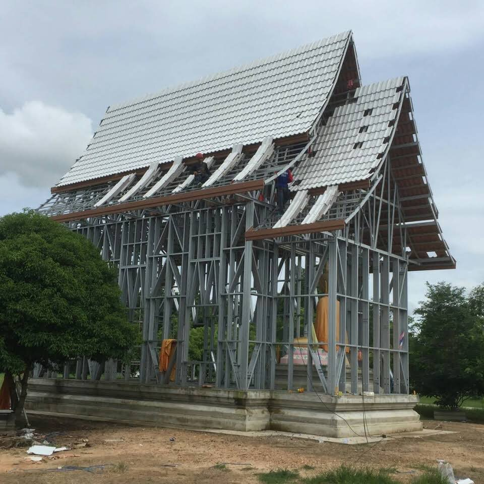 Sail Shades Thailand Roof Trusses