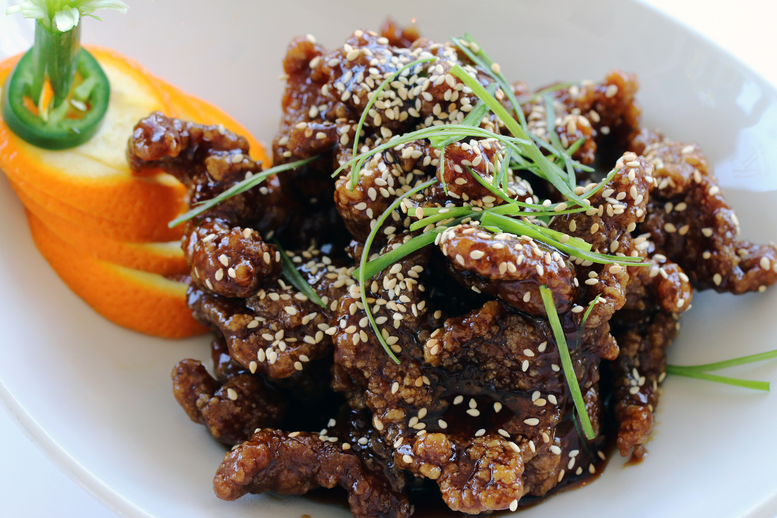 Rangoon Ruby Sesame Beef