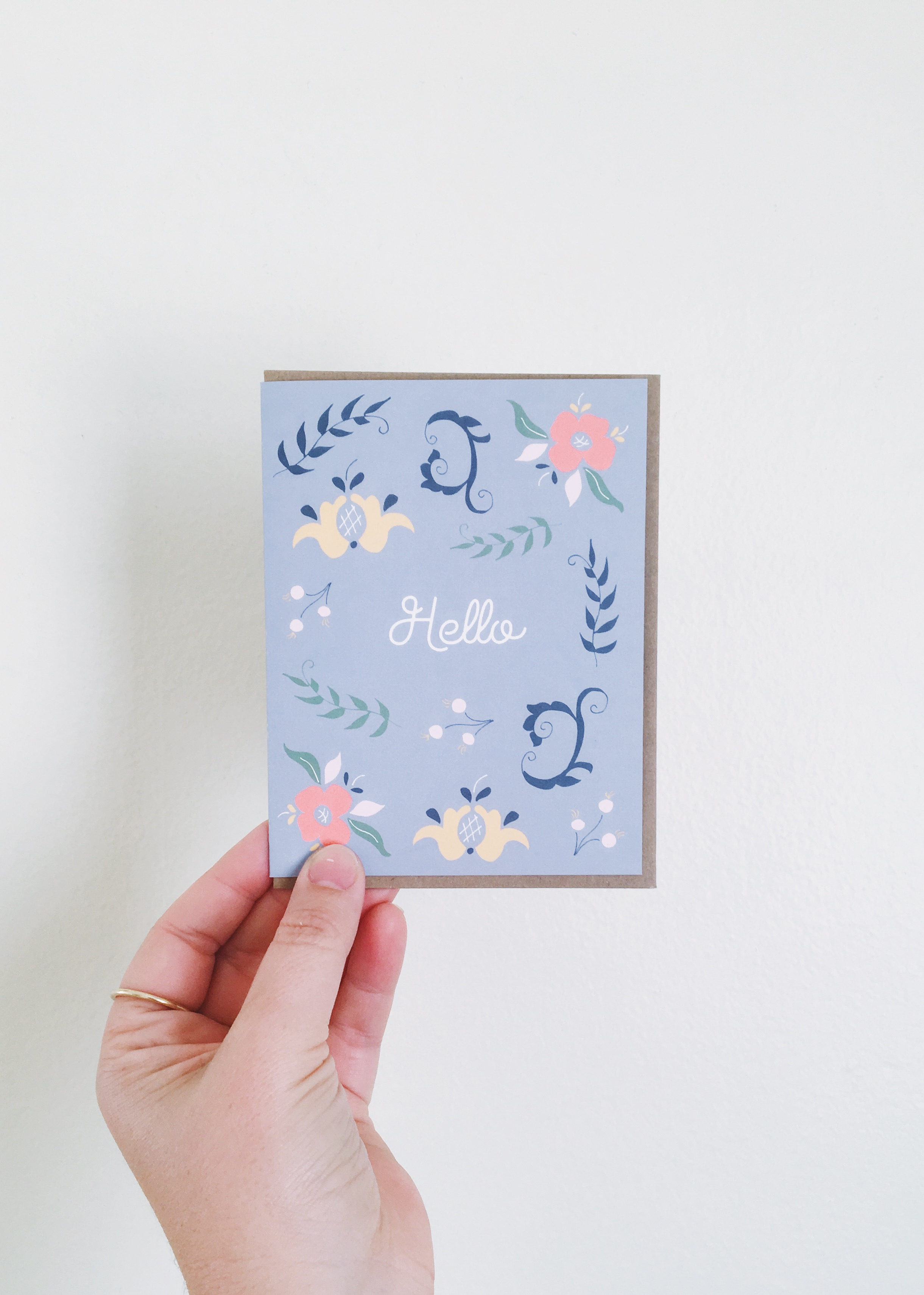 Scandinavian Greeting Card
