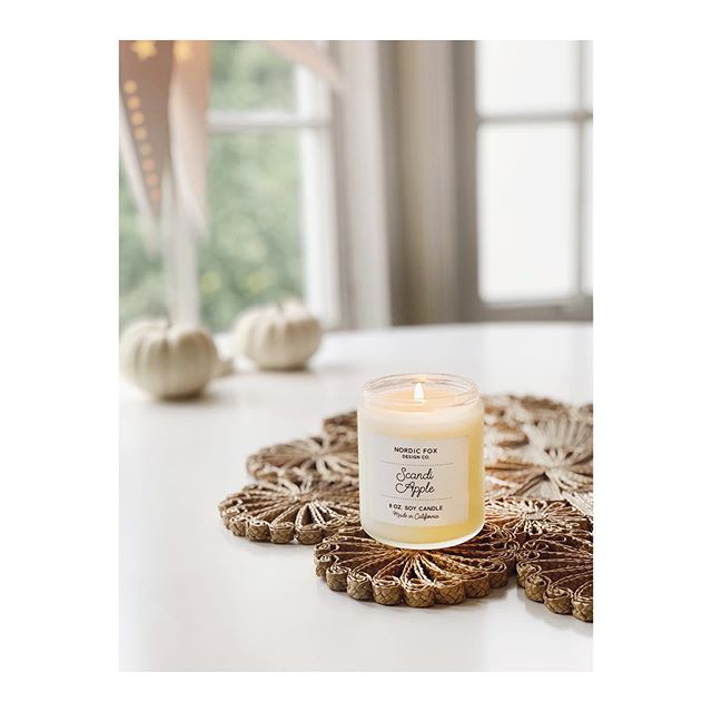 Happy Fall. ✨ . . . #falldecor #soycandles #cozyvibes #scandinaviandesign #hyggelife