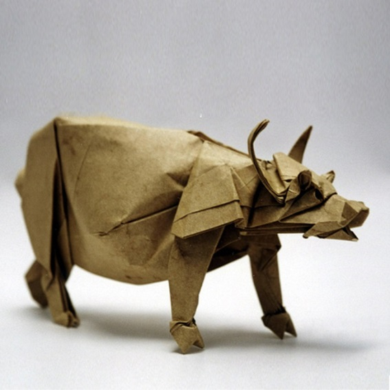 An impressive buffalo, an early design, by Joseph Wu from Canada