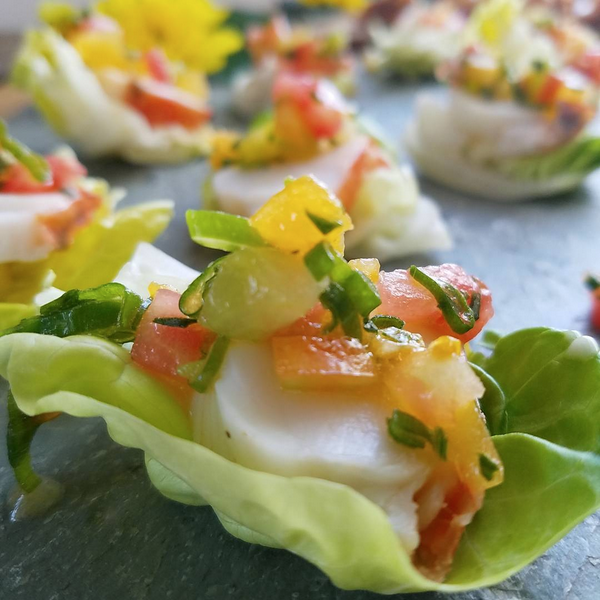 Lobster Tartare Cups