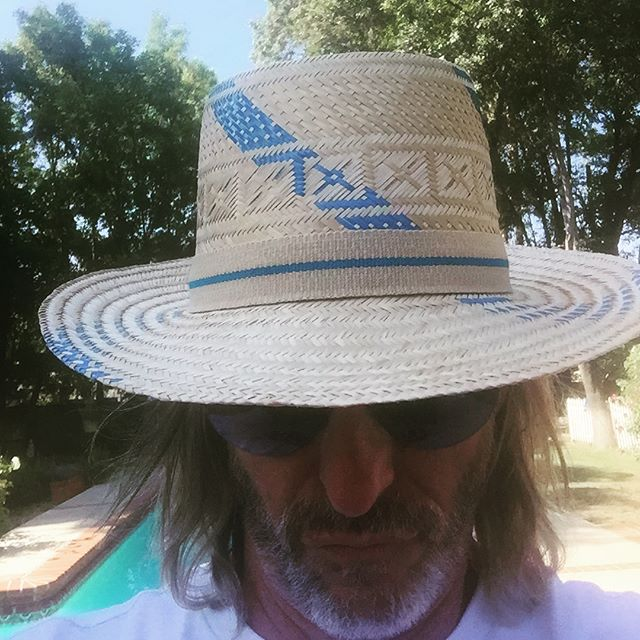 Happy birthday to me . My new hat from Venezuela 🇻🇪 #rockitfoods #california #summer