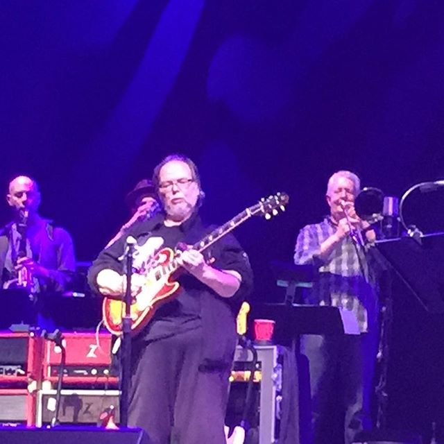 Late post, will really miss watching this icon preform!🙁but his music will never die. RIP Walter Becker. #rockitfoods #steelydan #ilovenyc
