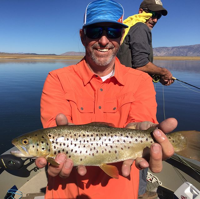 Fun day of fishing in the sierras. #rockitfoods#flyfishing#outdoors