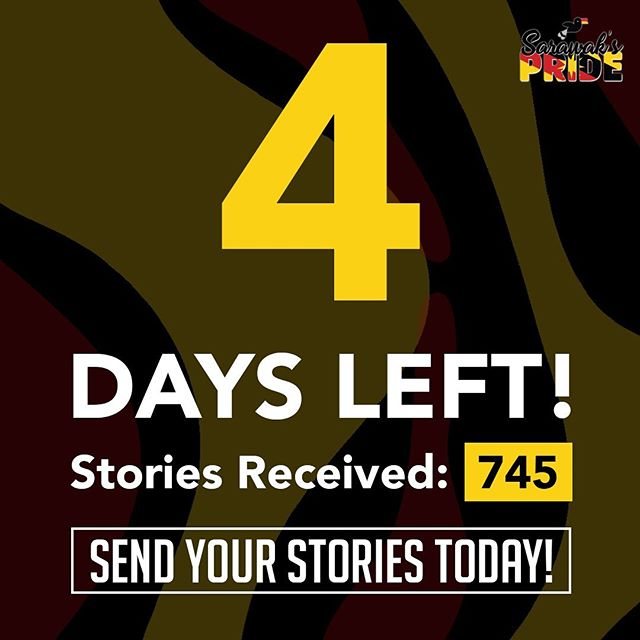 We're almost there! Don't miss the chance, submit your story today! Click the link in our bio. Hurry!  #sarawakpride #sarawak #miri #sibu #apple #macbook #iphonexr #airpods #story