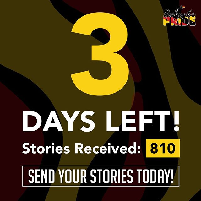 We have 3 days left 😱 ?! What?! Hurry now, submit your story today and do not miss the chance to win yourself some amazing prizes!  Link in bio. #sarawakpride #sarawak #miri #sibu #apple #macbook #iphonexr #airpods #story