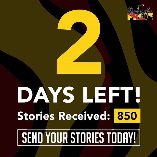 Uno, Dos! We have 2 days left! 😱 Make sure to send in your stories before the 30th June 2019 to stand a chance to win some amazing Apple products!  #sarawakpride #sarawak #sibu #miri #apple #macbook #iphone #airpids #story