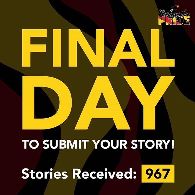 It's the final day guys! Final push to get to a thousand stories of unity in Sarawak! We are so overwhelmed by your support throughout this journey and we are touched by your stories.  If you have more stories to share, you can do so by clicking on the link in our bio. It's not too late and you stand the chance to win some great Apple products too!  #sarawakpride #sarawak #miri #sibu #apple #macbook #iphone #airpods #story