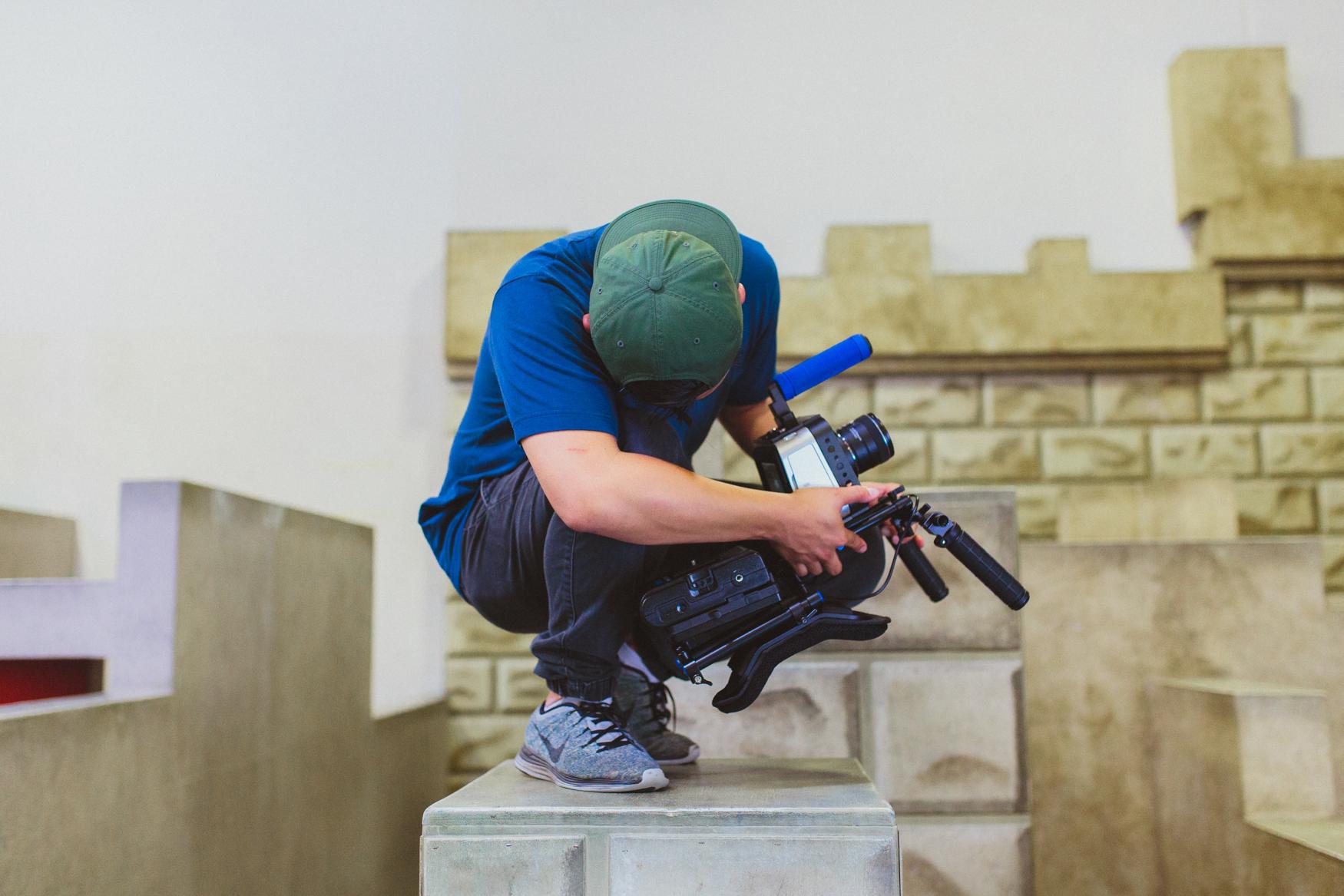Camera man, Andrew Yi.