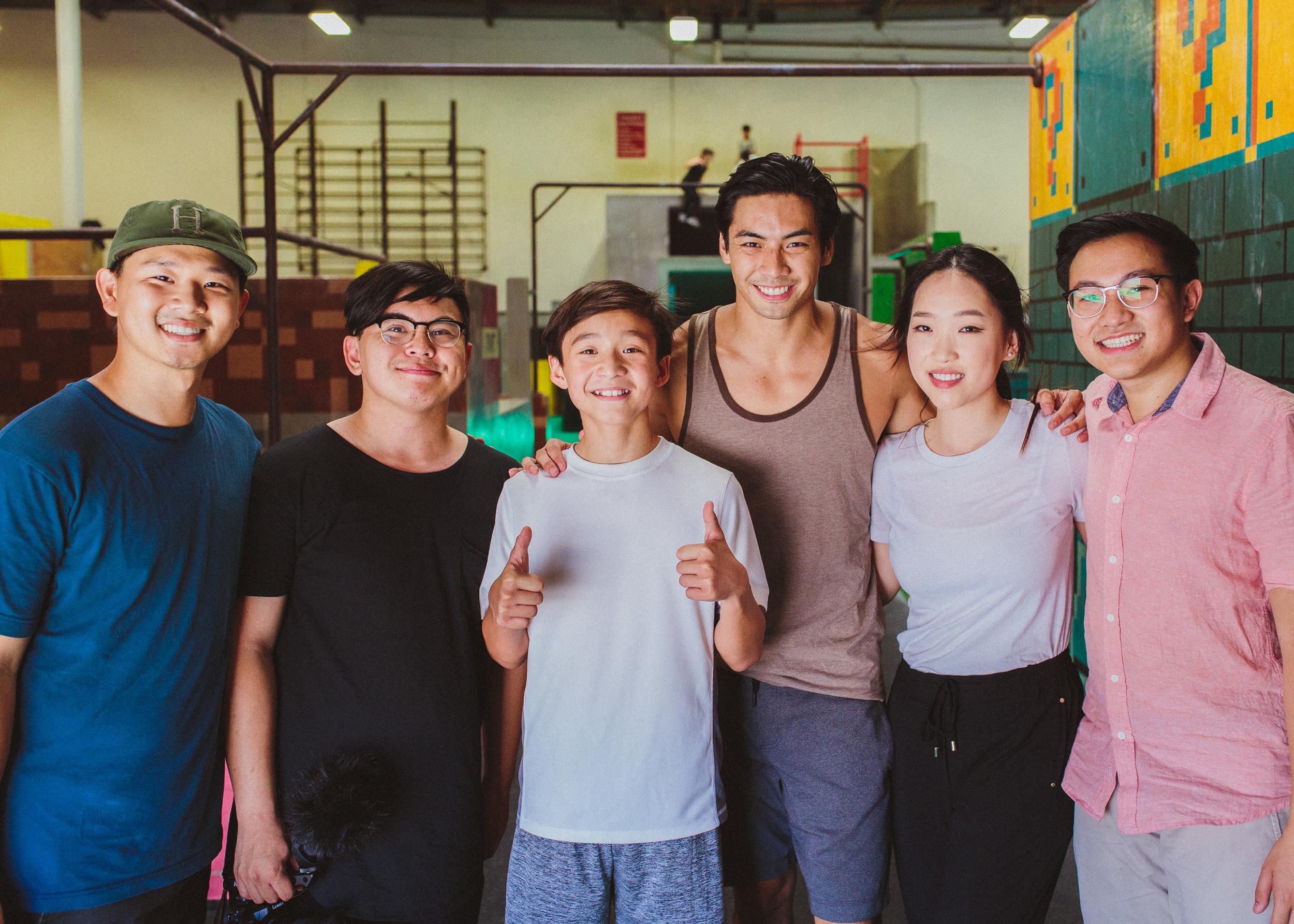 A+ crew, B- sweat.