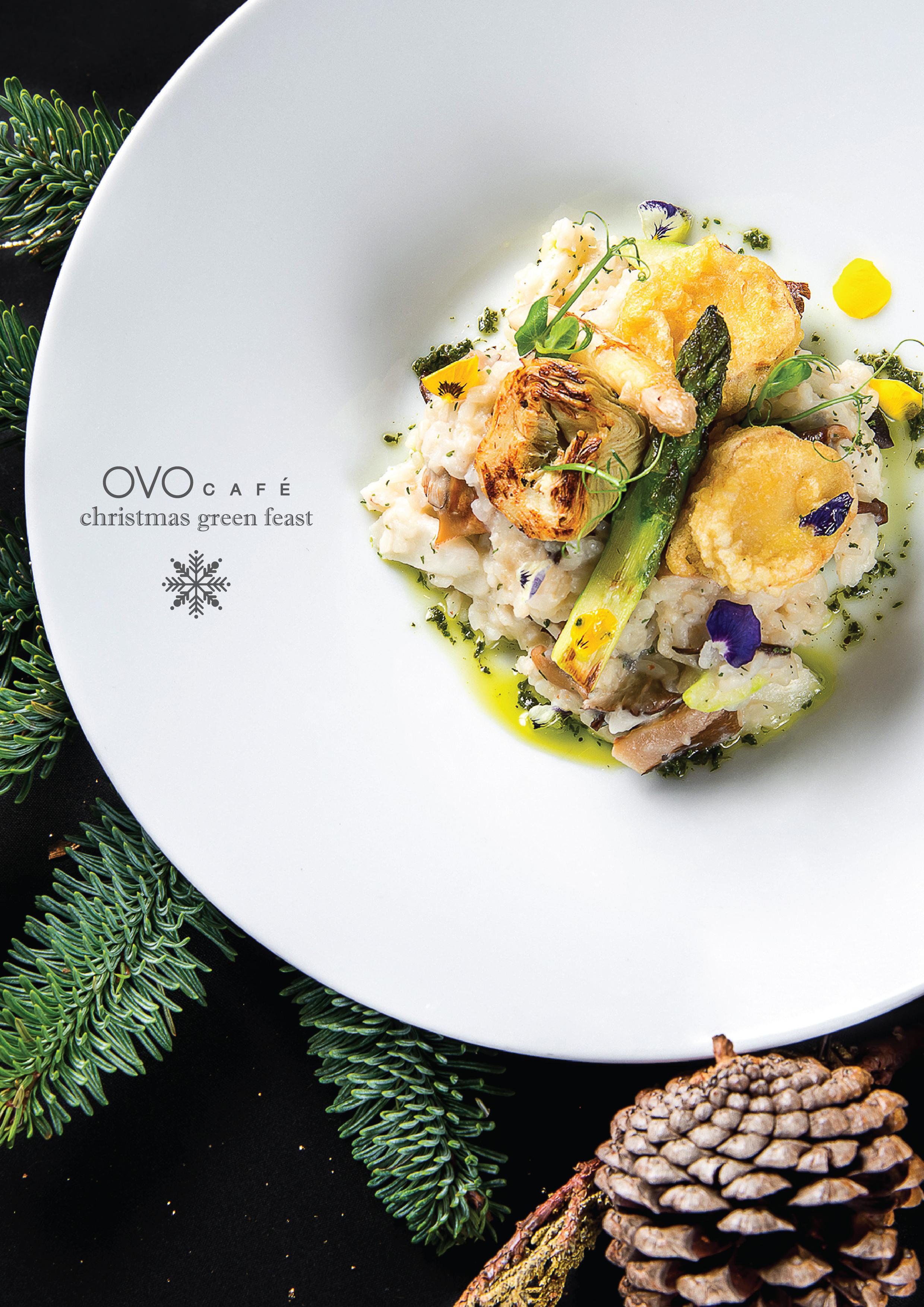 risotto with cauliflower cream sauce 椰菜花忌廉汁意大利飯