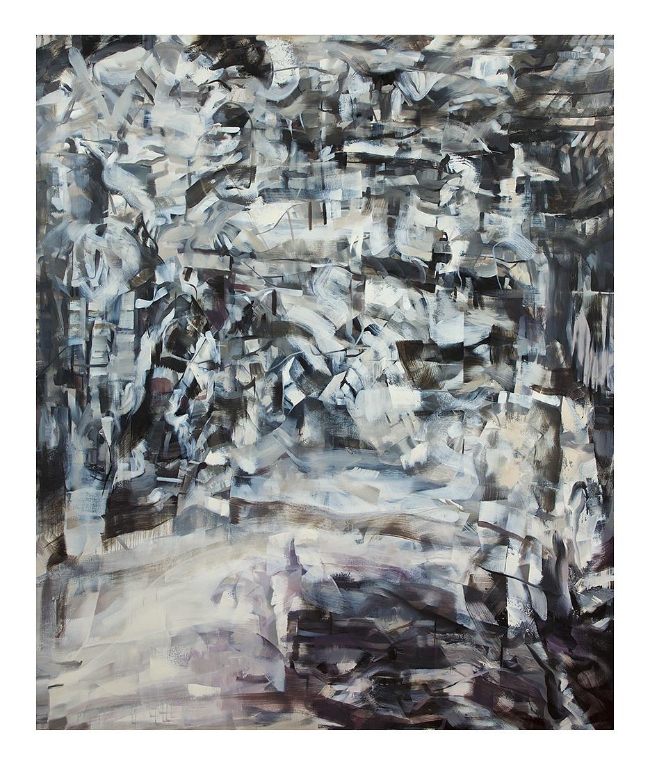 Louis Savage  Kintsukuroi (Lateral Inhibition)  Oil on Linen  190 x 160cm