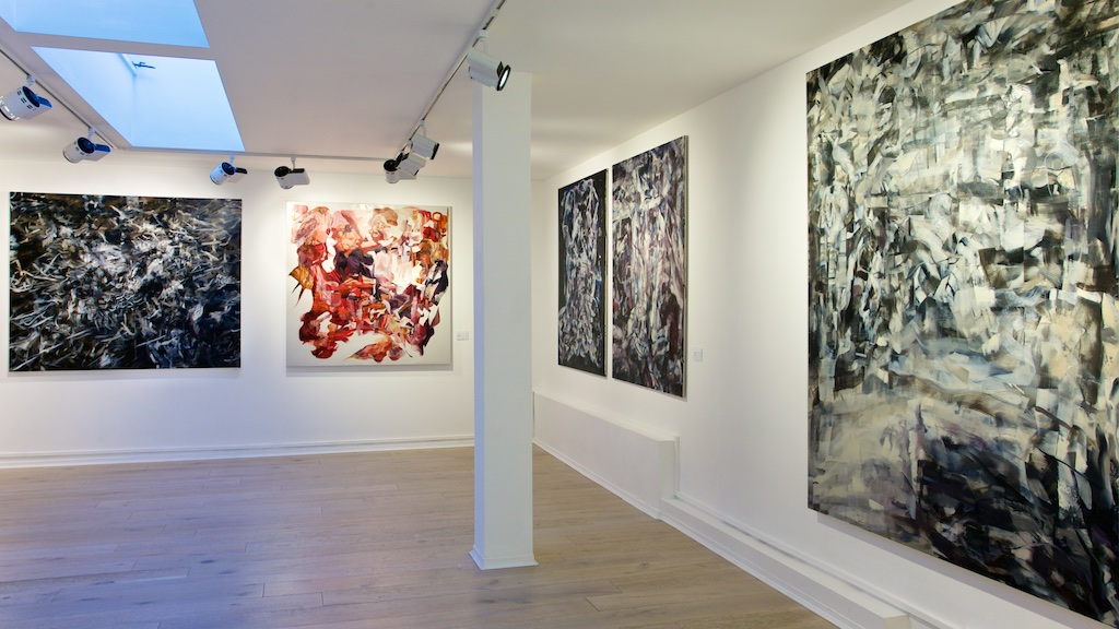 RIGHT/Kintsukuroi (Lateral Inhibition) in the exhibition Louis Savage: Kurofune at Lacey Contemporary London
