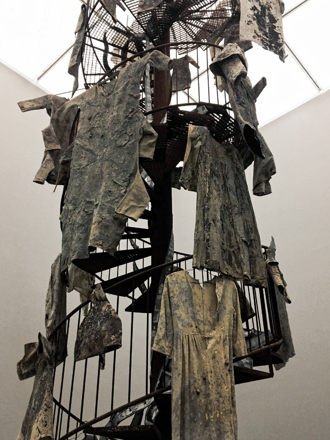 Anselm Kiefer, Walhalla at White Cube Bermondsey