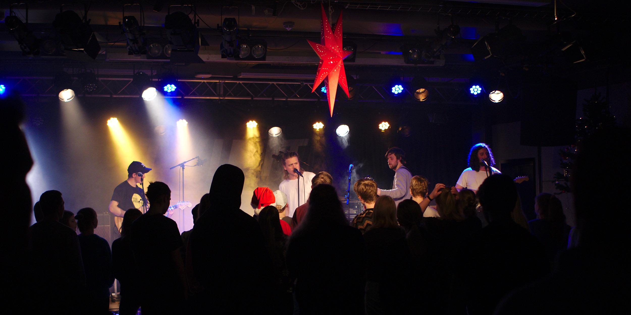 The modern times konsert på Tvibit 12.12.18