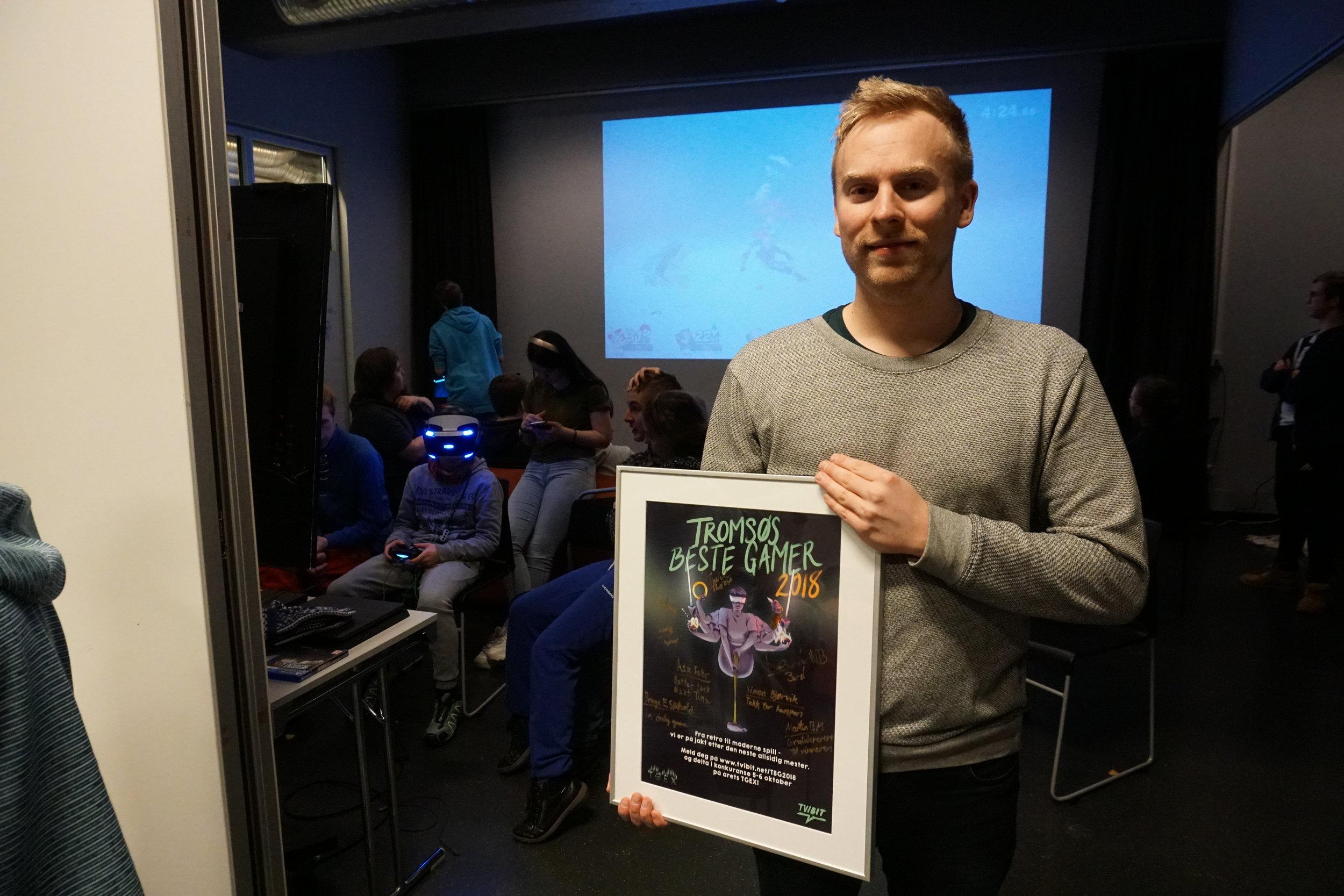 Tromsøs beste gamer 2018