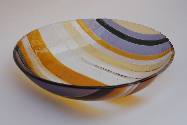 Big glass bowl