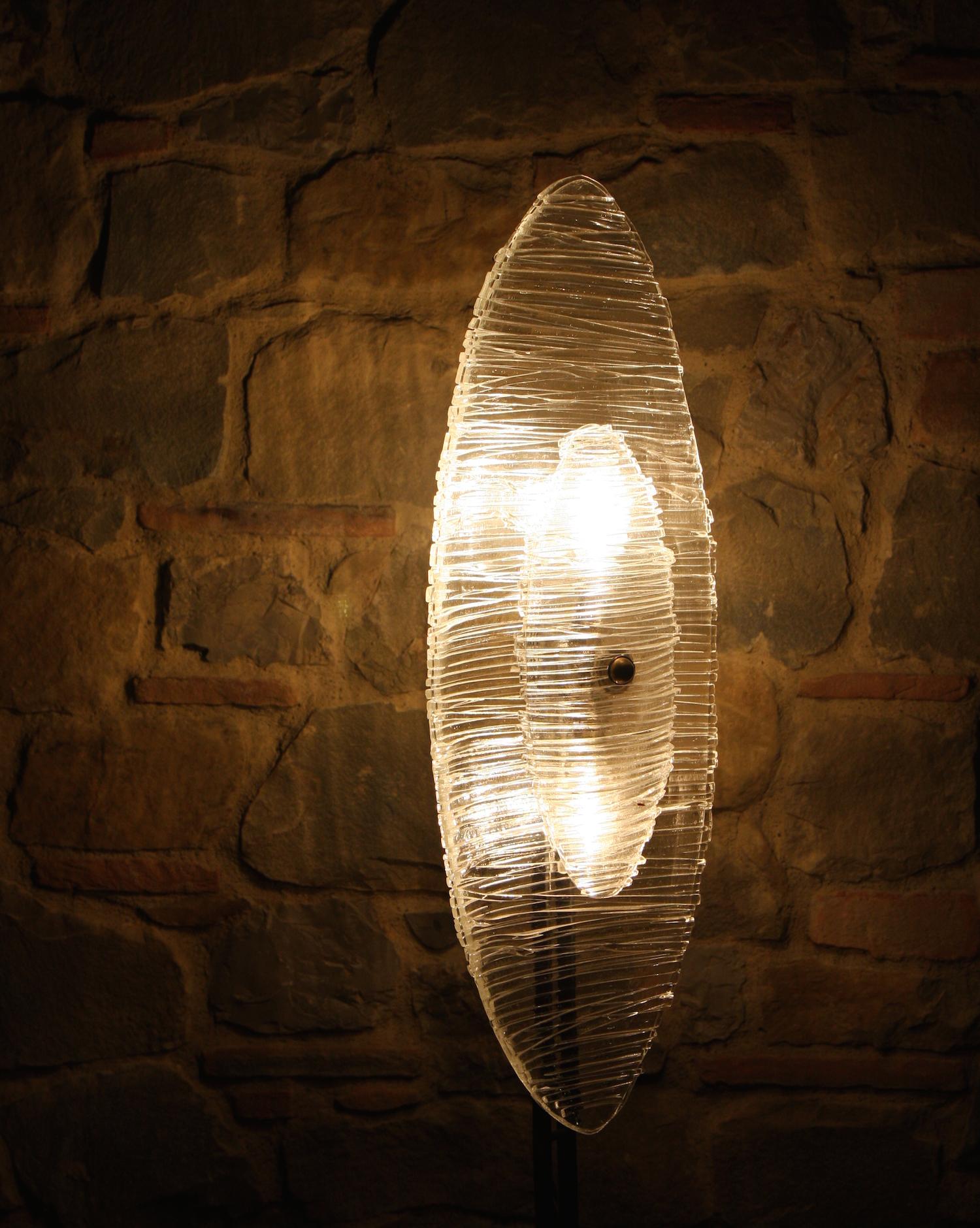 Floor glass lamp by Studiosilice