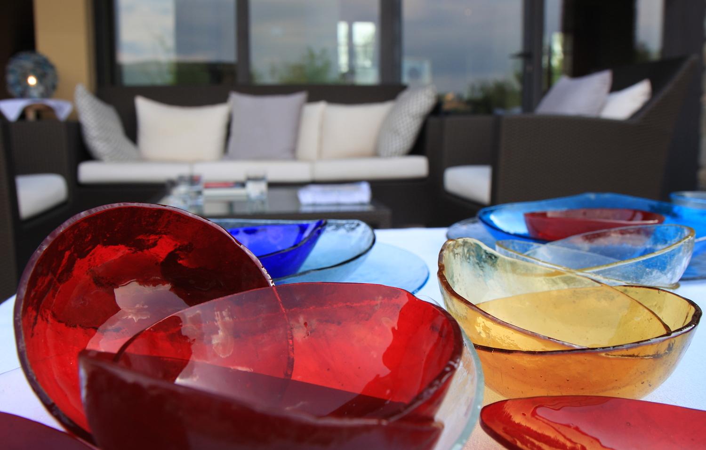 Glass Tableware by Studiosilice