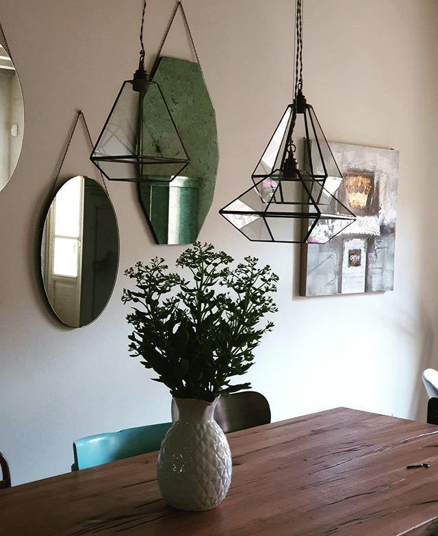 """Our """"NUDE"""" hanging lamp!! Composizione lampade dalla collezione NUDE . @studiosilice  #interiordesigns #hanmadeinitaly #tablelamps #glassdesign #homedesign #homedecor #luci #arredamentointerni #lampade #handmadeinrome"""