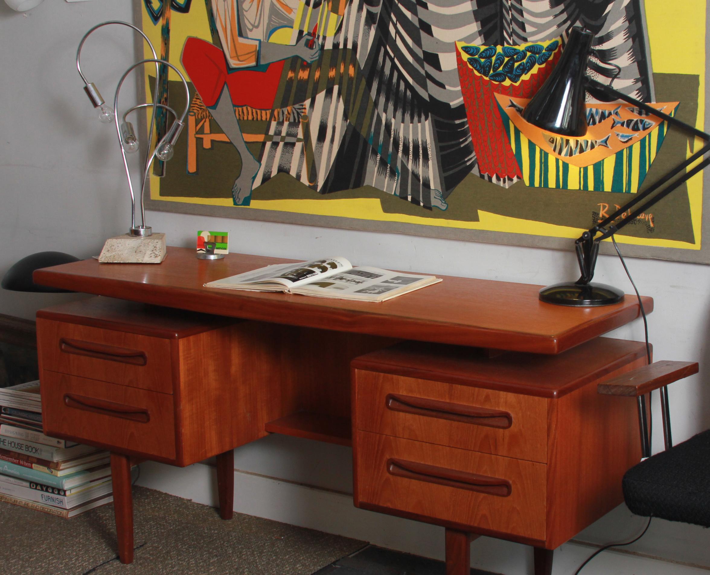 Teak Desk/Dressing table by G Plan  £325