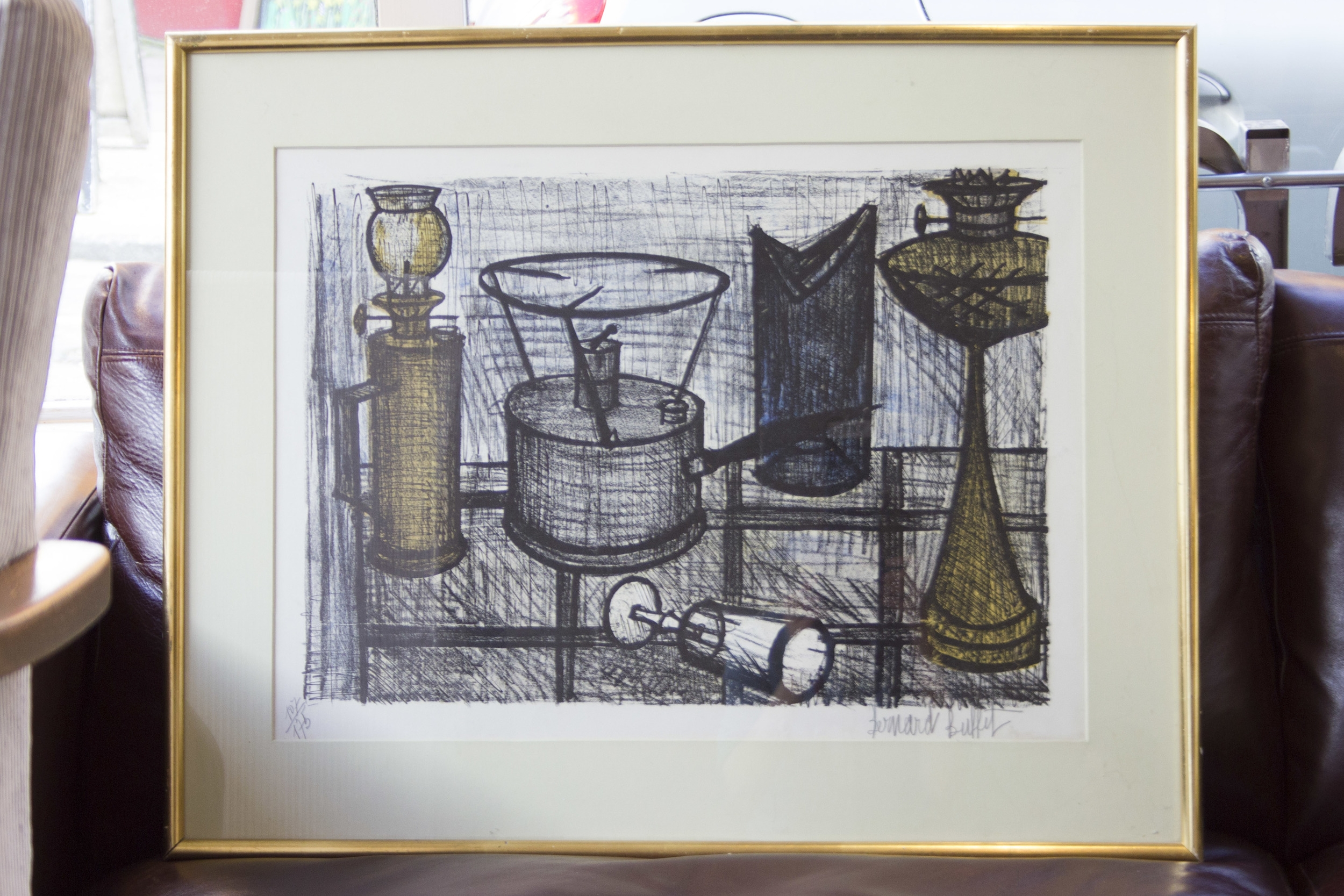 Bernard Buffet Limited Edition Print, signed by Artist £750