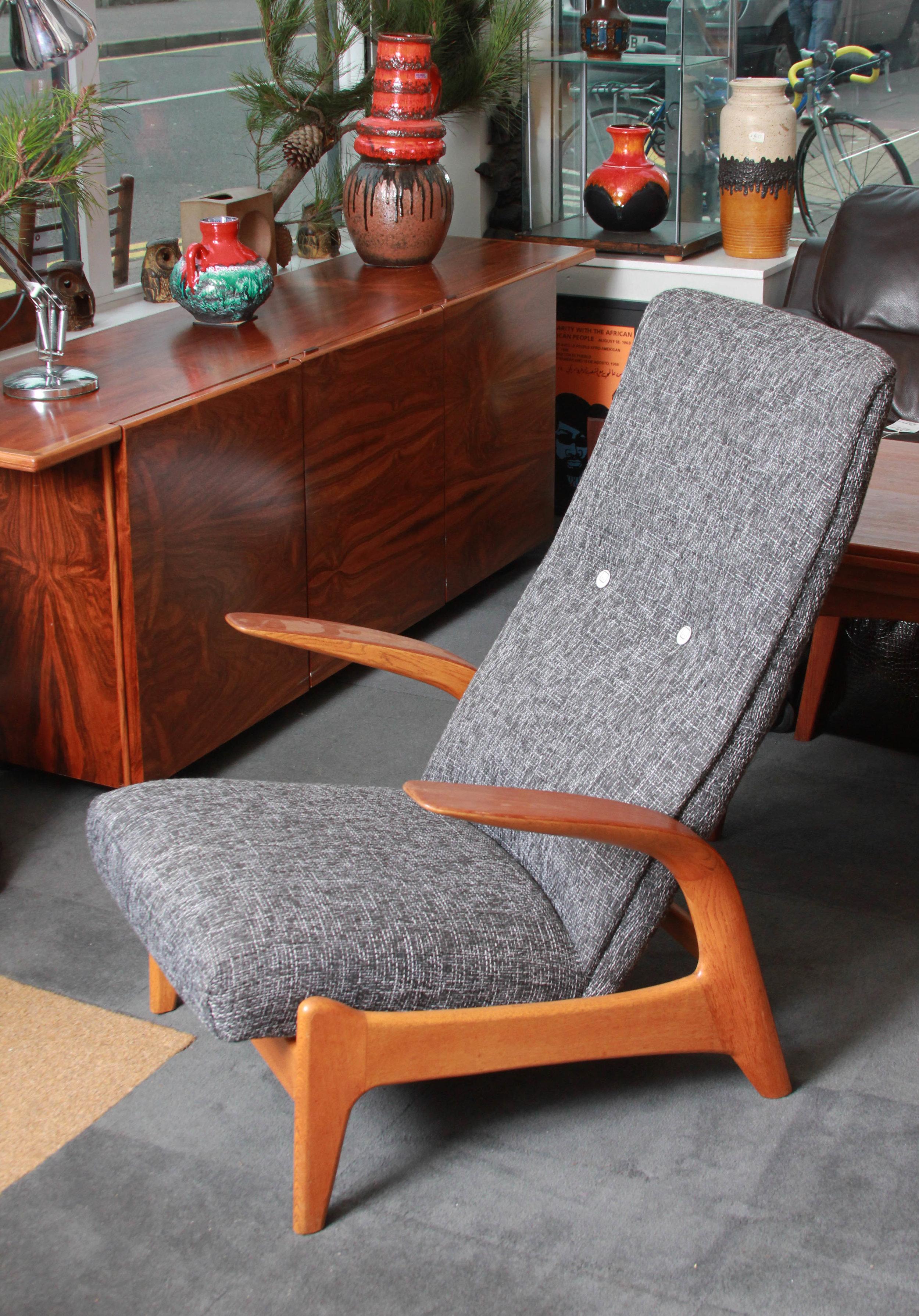 Gimson & Slater 1958. Reupholstered £1250