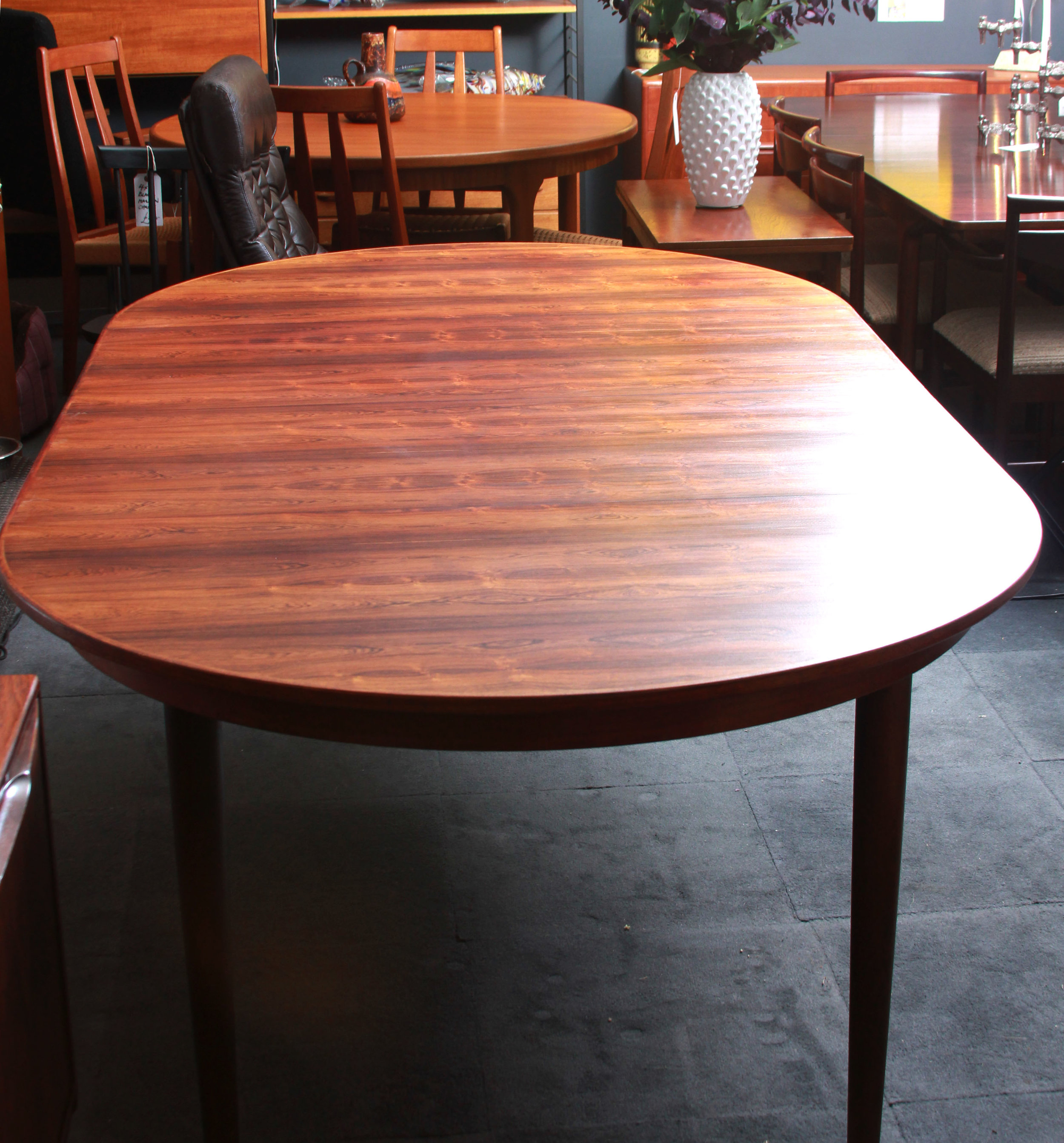 SOLD -  Round Extended Table