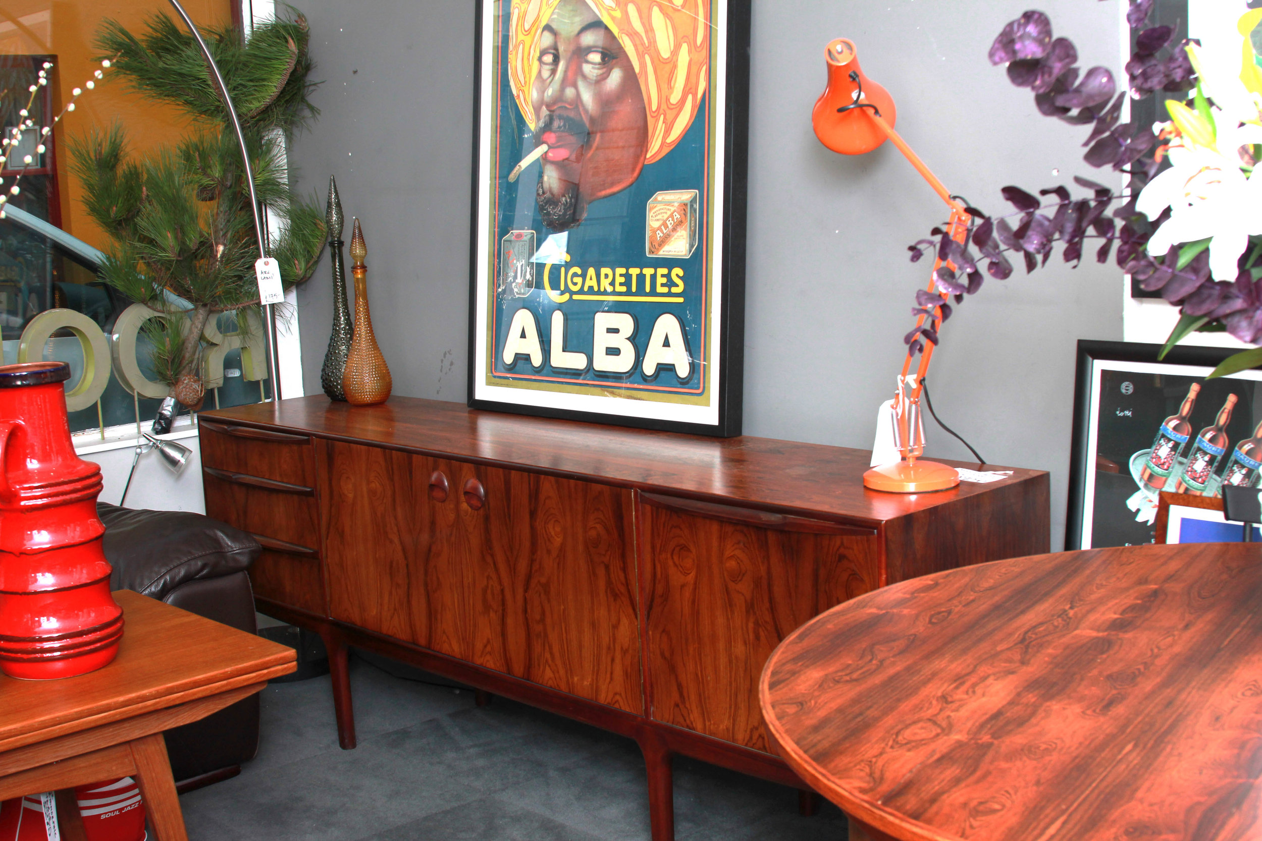 SOLD    -Rosewood sideboard by McIntosh of Kilcarld.  £1250