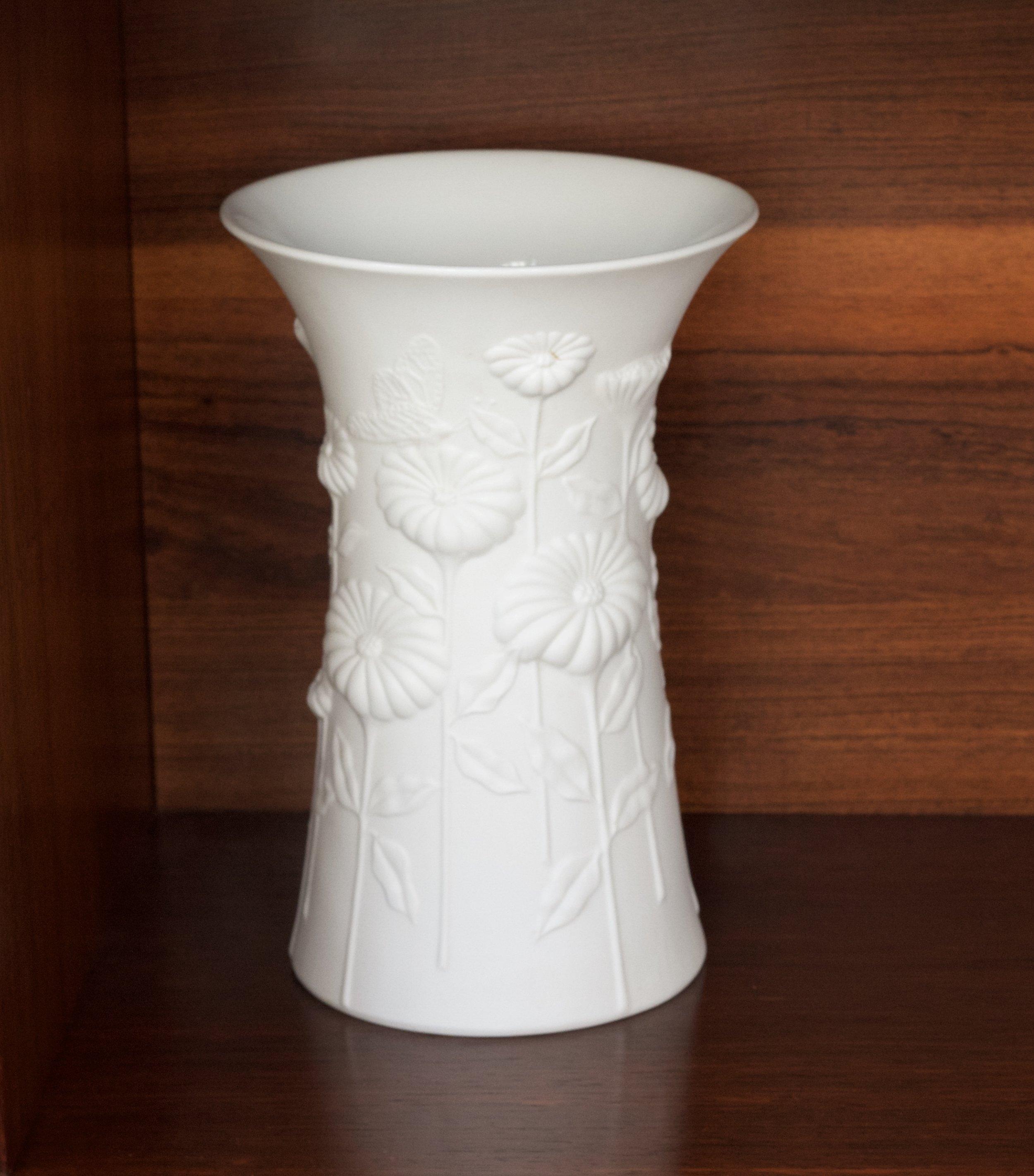 White Porcelain Vase