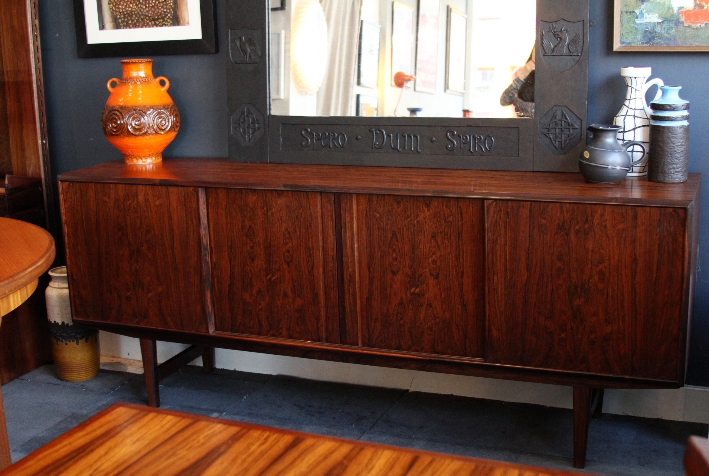 Rosewood Sideboard- by E.W. BACH For SEJLING SKABE £1750
