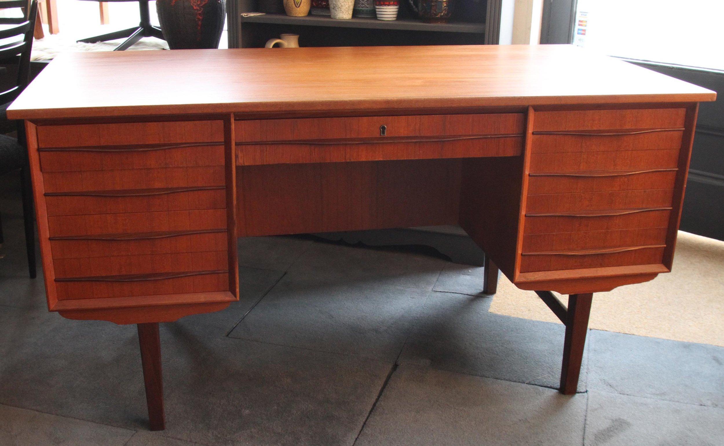 Teak Desk by Kofod Larsen £875